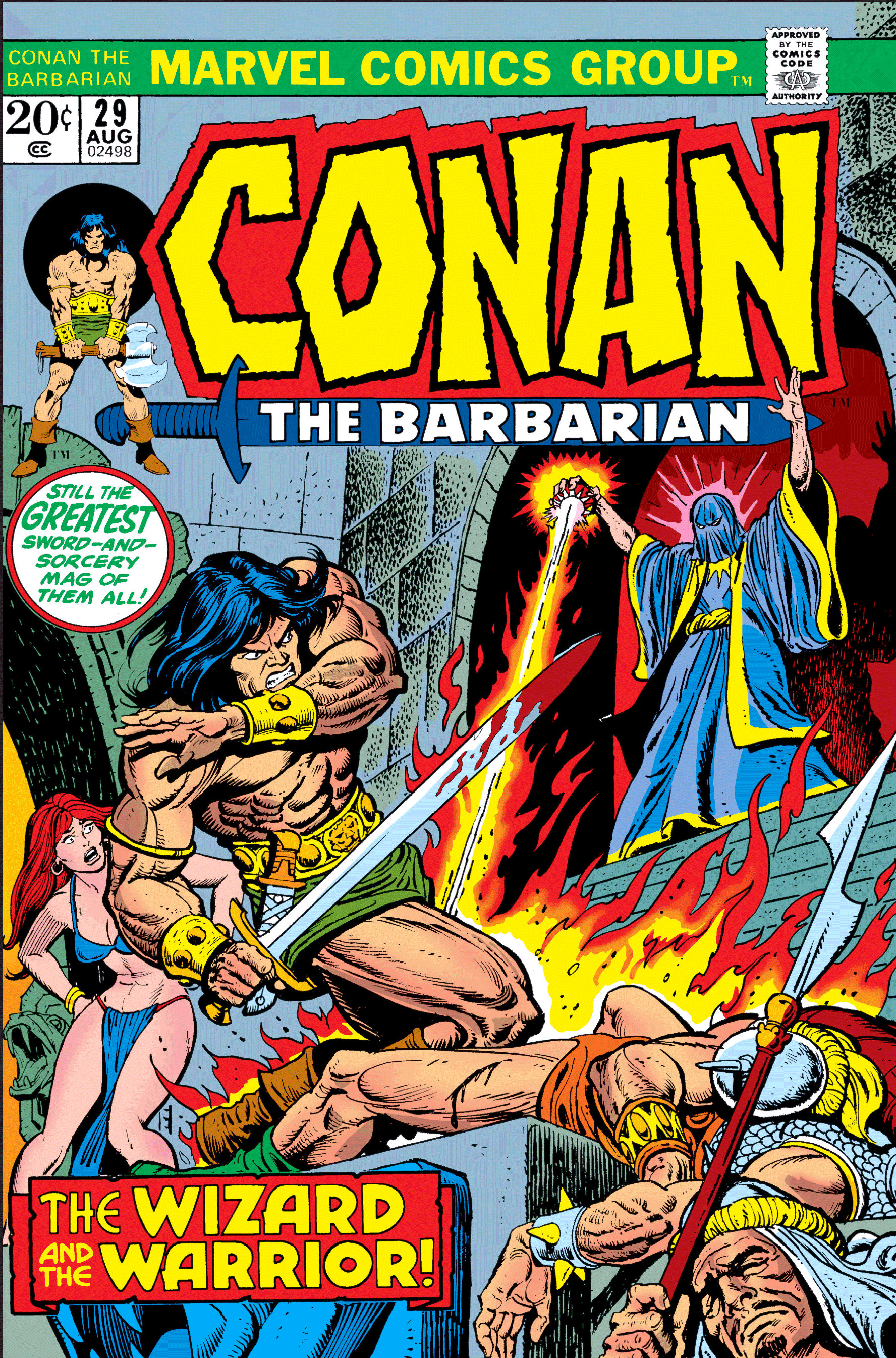 Conan the Barbarian Vol 1 29