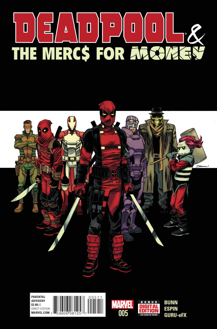 Deadpool & the Mercs for Money Vol 1 5