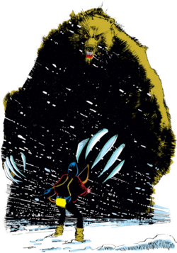Demon Bear (Earth-616) from New Mutants Vol 1 18 001.png