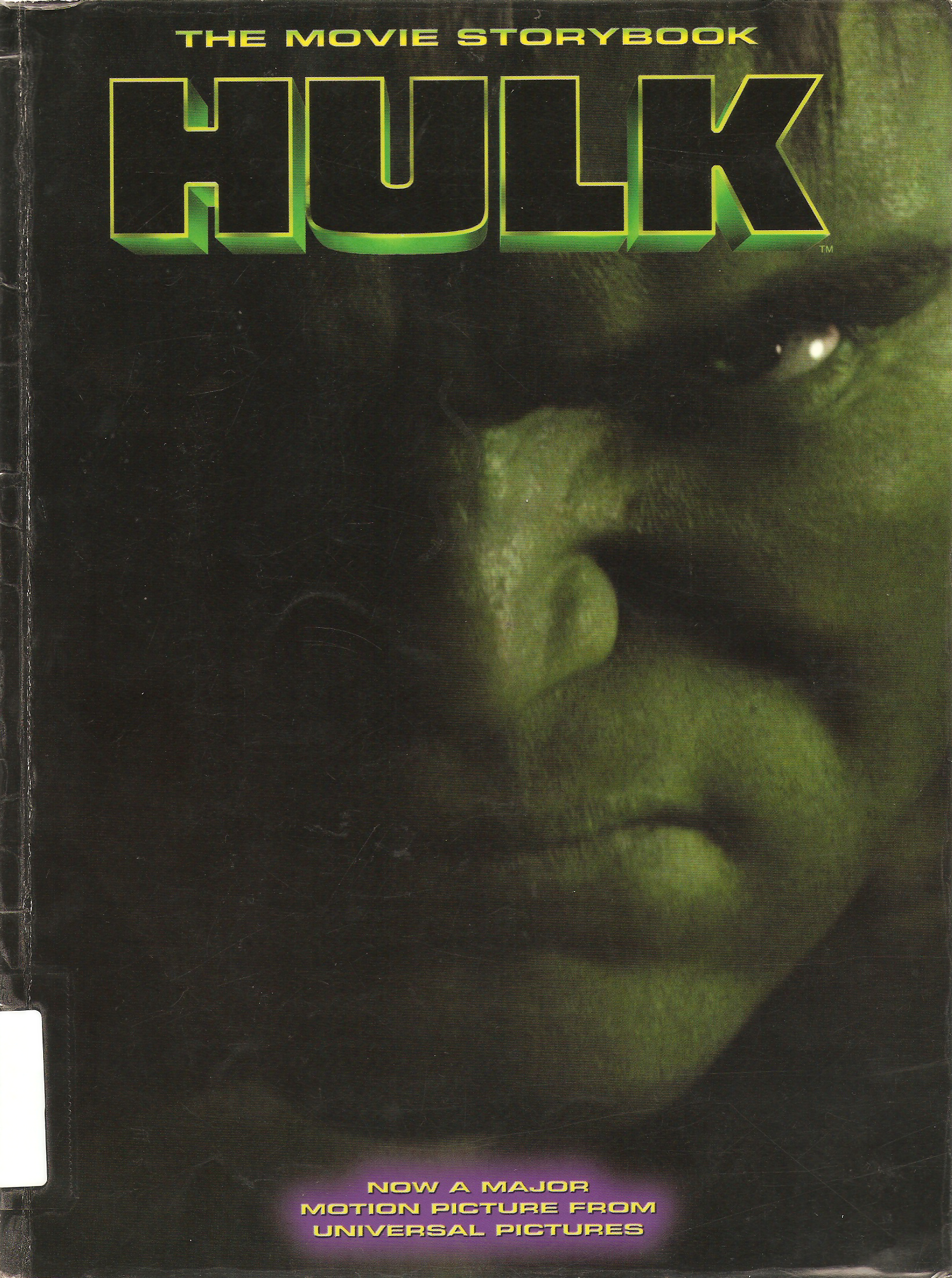 Hulk: The Movie Storybook