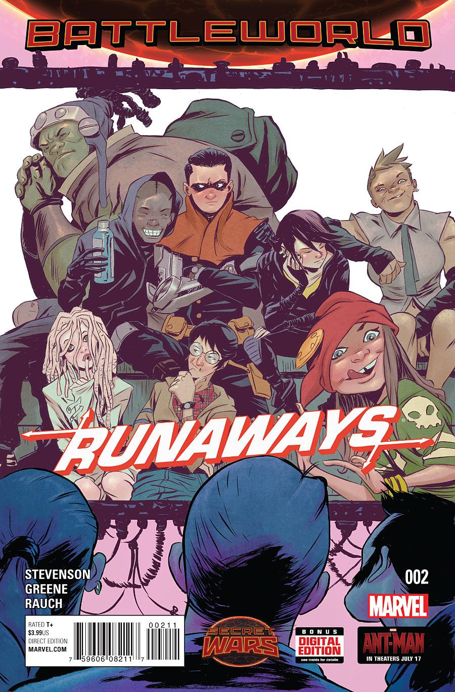Runaways Vol 4 2