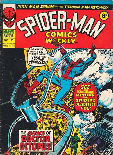 Spider-Man Comics Weekly Vol 1 114