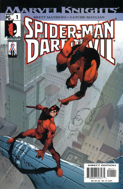 Spider-Man/Daredevil Vol 1 1