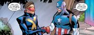 Steven Rogers (Earth-616) and Scott Summer (Earth-616) from Marauders Vol 1 21 001