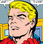 Steven Rogers (Earth-616) retires as Captain America from Tales of Suspense Vol 1 95