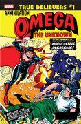 True Believers Annihilation - Omega the Unknown Vol 1 1