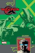 Weapon X The Draft - Sauron Vol 1 1