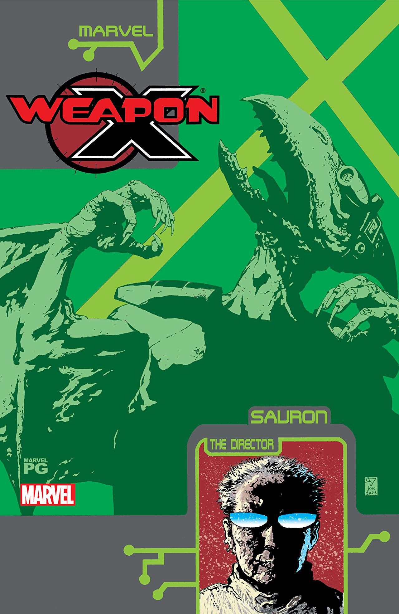 Weapon X: The Draft - Sauron Vol 1 1