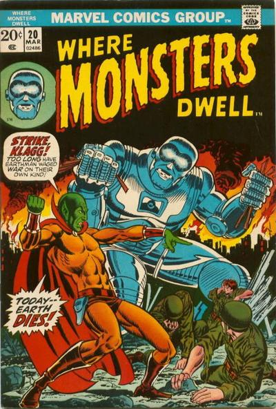 Where Monsters Dwell Vol 1 20