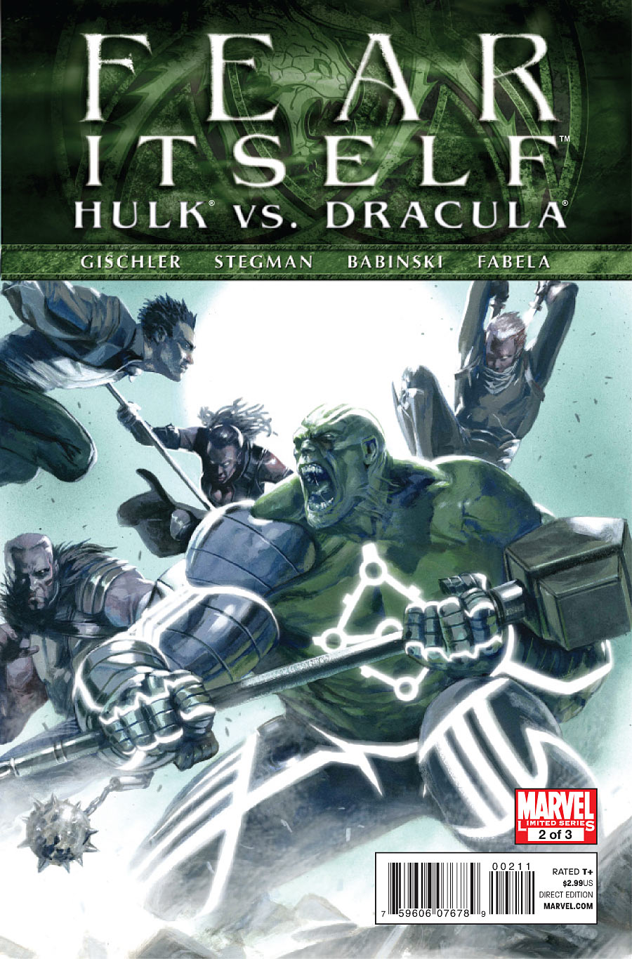 Fear Itself: Hulk vs. Dracula Vol 1 2