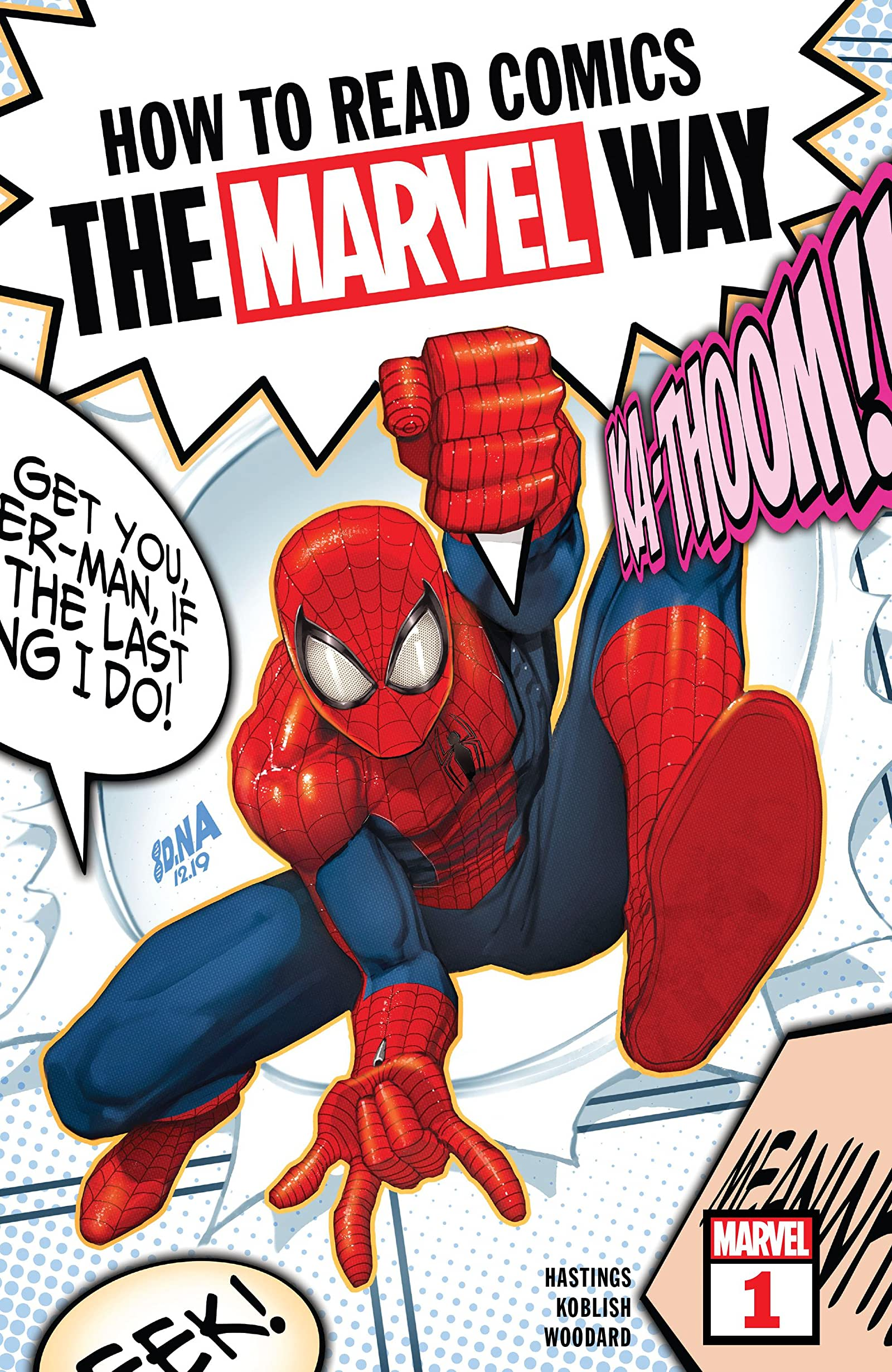 How to Read Comics the Marvel Way Vol 1