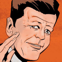 John F. Kennedy (Earth-616) from Captain America Vol 5 50 001.jpg
