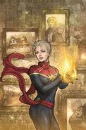 Life of Captain Marvel Vol 2 1 Takeda Variant Textless