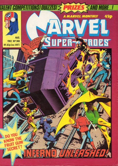 Marvel Super-Heroes (UK) Vol 1 388
