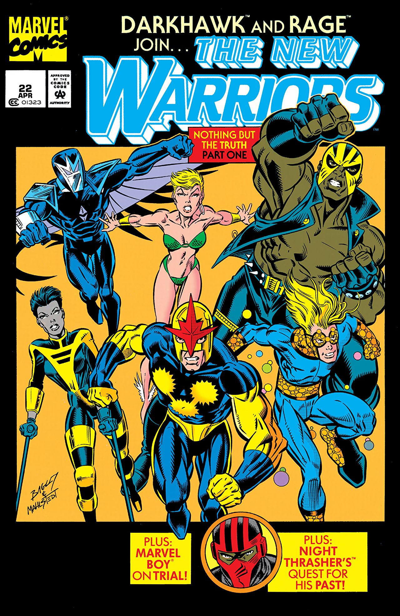 New Warriors Vol 1 22