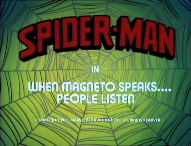Spider-Man (1981 animated series) Season 1 6