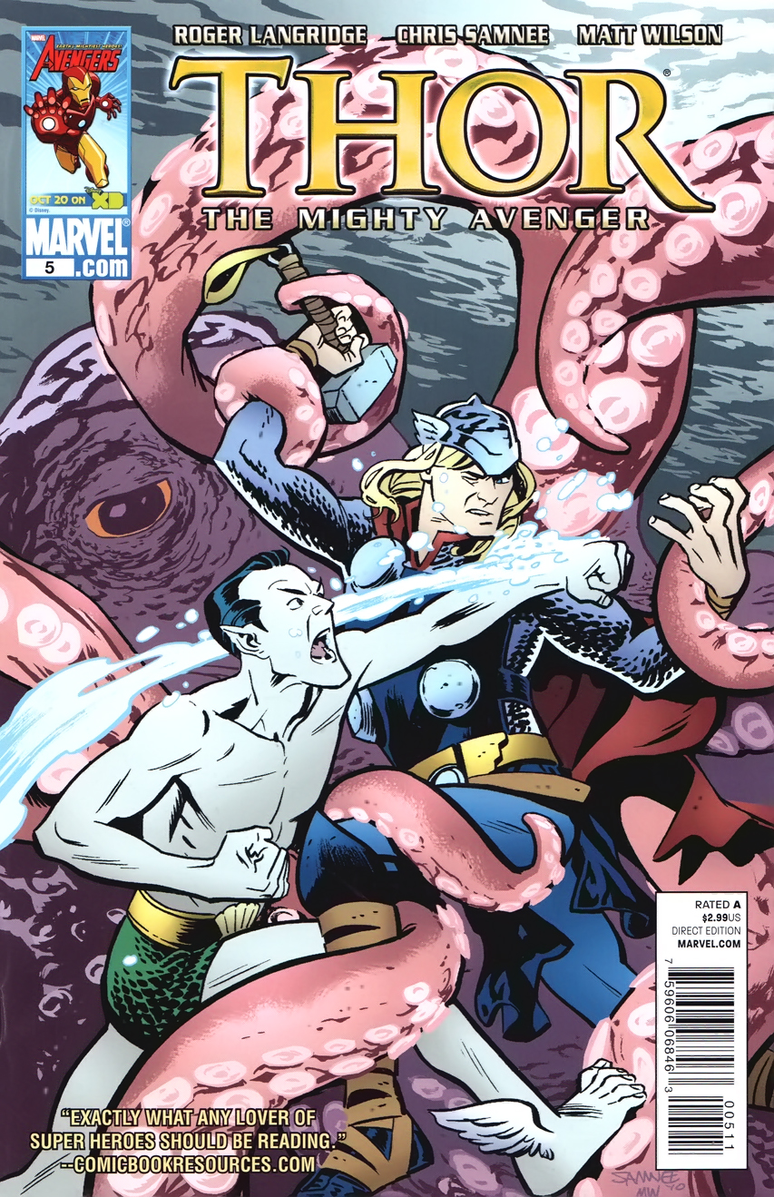 Thor: The Mighty Avenger Vol 1 5