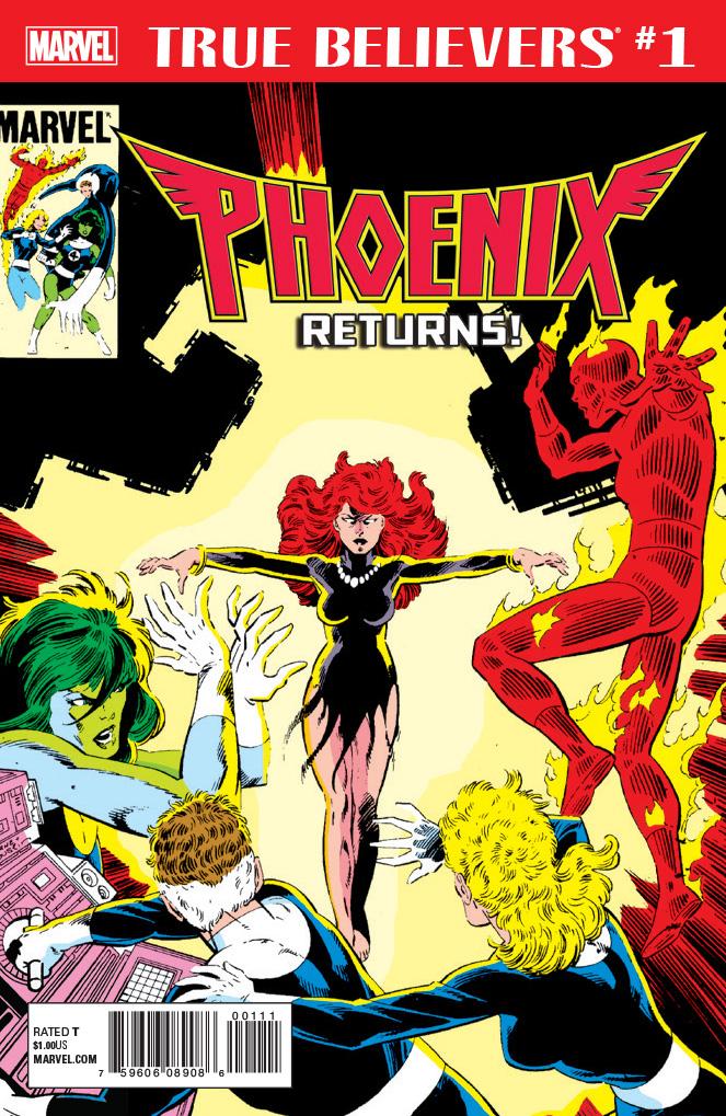 True Believers: Phoenix Returns Vol 1 1