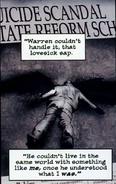 Warren Worthington III (Earth-90214) from X Men Noir Vol 1 4 001