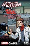 Amazing Spider-Man & Silk The Spider(fly) Effect Infinite Comic Vol 1 5