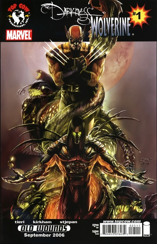 Darkness/Wolverine Vol 1 1