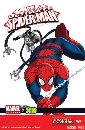 Marvel Universe Ultimate Spider-Man Vol 1 20 Solicit.jpg
