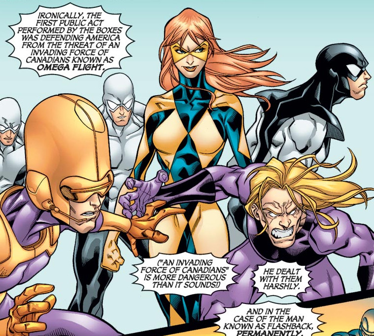 Omega Flight (Earth-5019)