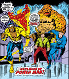 Power Man Joins the Fantastic Four from Fantastic Four Vol 1 168