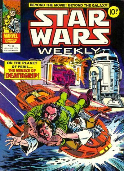 Star Wars Weekly (UK) Vol 1 25