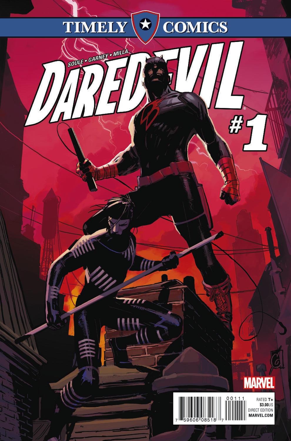 Timely Comics: Daredevil Vol 1