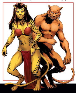 Cat People (Demons) from Avengers Roll Call Vol 1 1 0001.jpg
