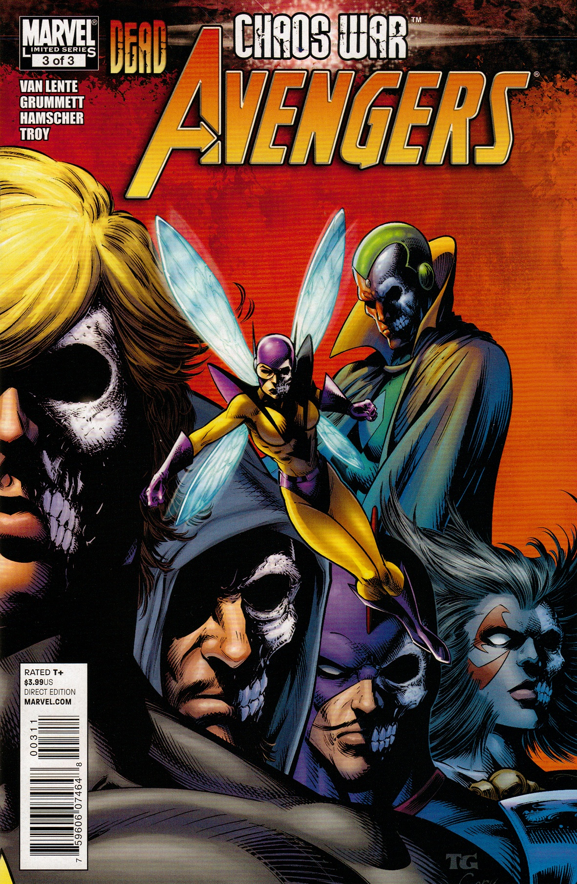 Chaos War: Dead Avengers Vol 1 3