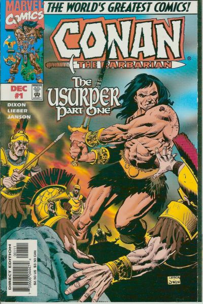 Conan the Barbarian: The Usurper Vol 1