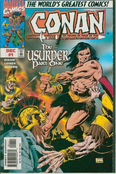 Conan the Barbarian: The Usurper Vol 1 1