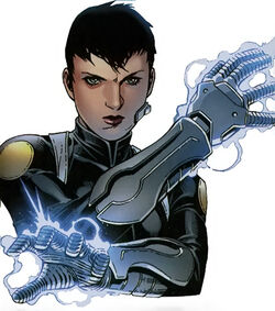 Daisy Johnson (Earth-616) from the cover of Secret Warriors Vol 1 1.jpg