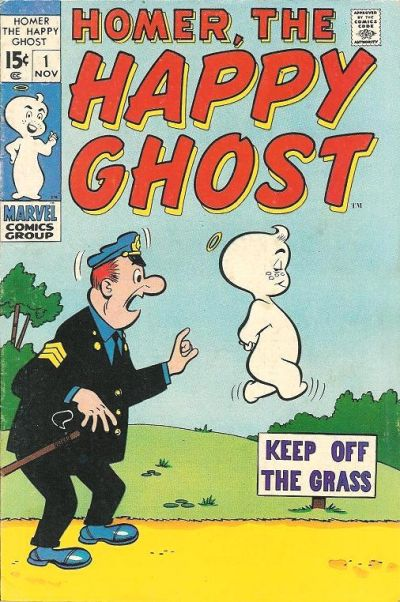 Homer, the Happy Ghost Vol 2