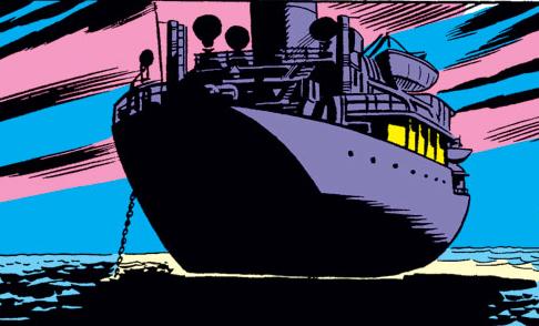 Maggia Gambling Ship