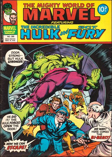 Mighty World of Marvel Vol 1 285