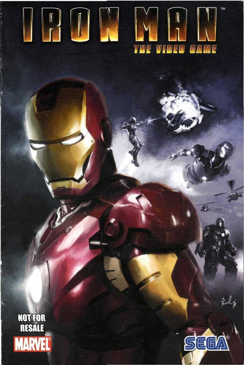 Sega Iron Man Special Vol 1 1