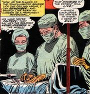 Stephen Strange (Earth-616) performs surgery in Doctor Strange Vol 1 169.jpg