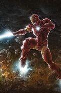 Tony Stark Iron Man Vol 1 1 Party Connecting Virgin Variant