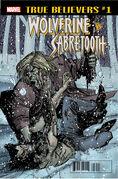 True Believers Wolverine vs. Sabretooth Vol 1 1