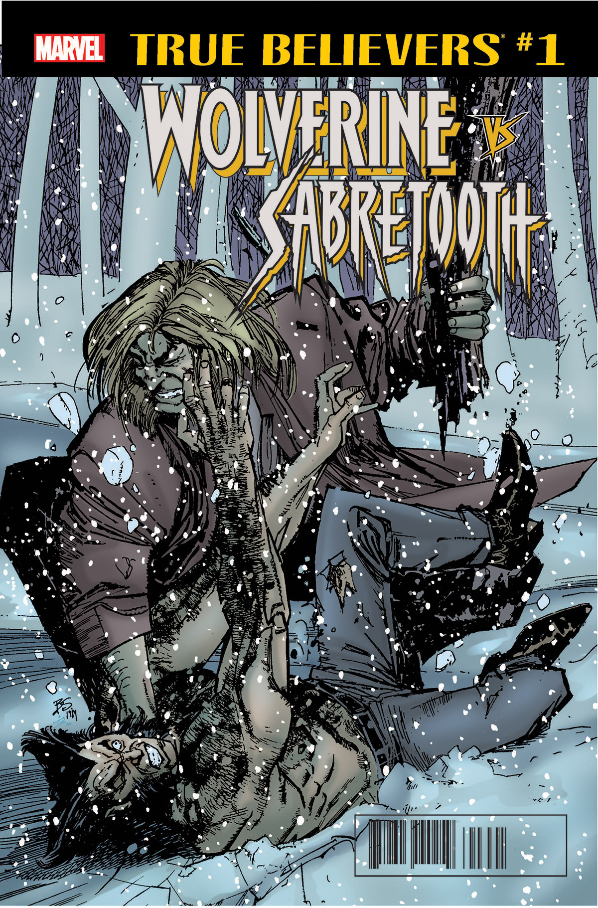 True Believers: Wolverine vs. Sabretooth Vol 1 1