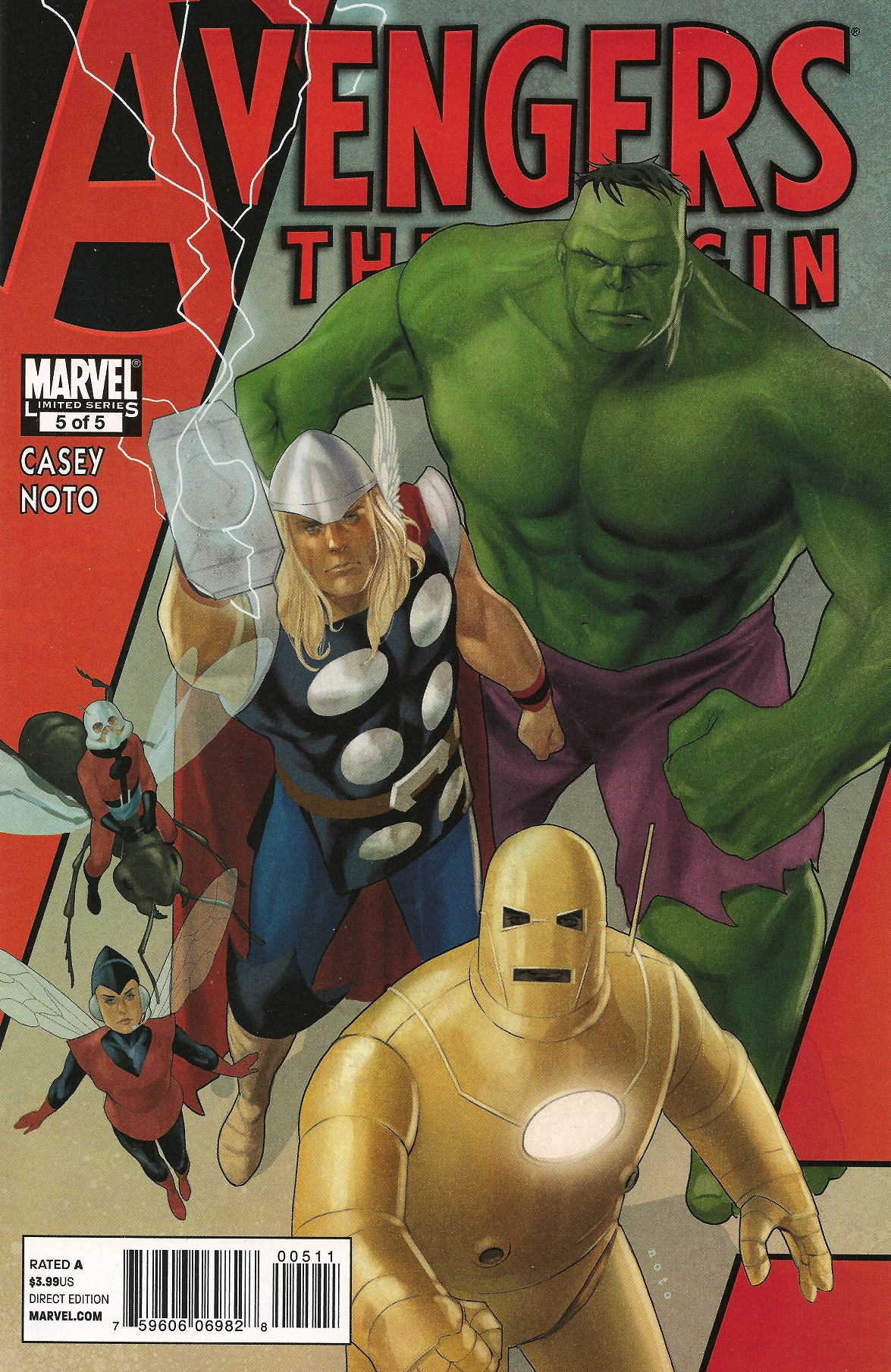 Avengers: The Origin Vol 1 5