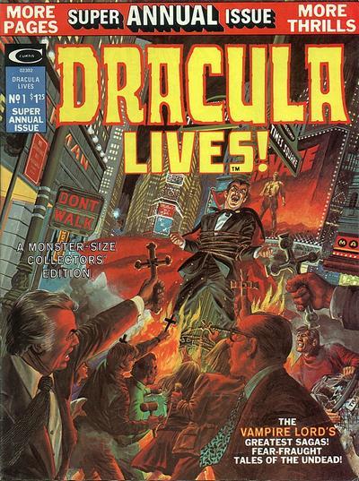 Dracula Lives Annual Vol 1