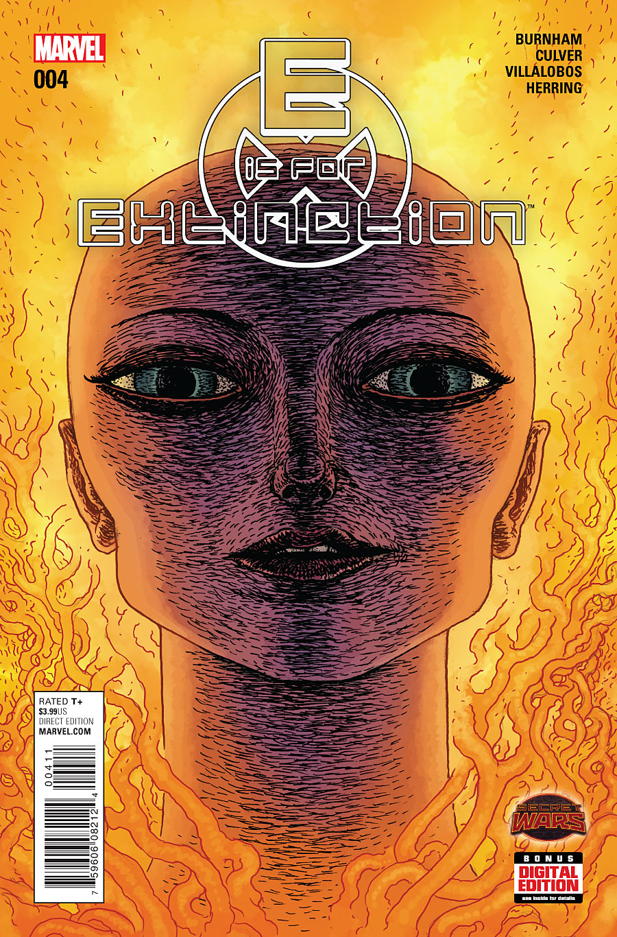2015 E IS FOR EXTINCTION #1 1ST PRINT  SECRET WARS TIE-IN *SPECIAL LOW PRICING