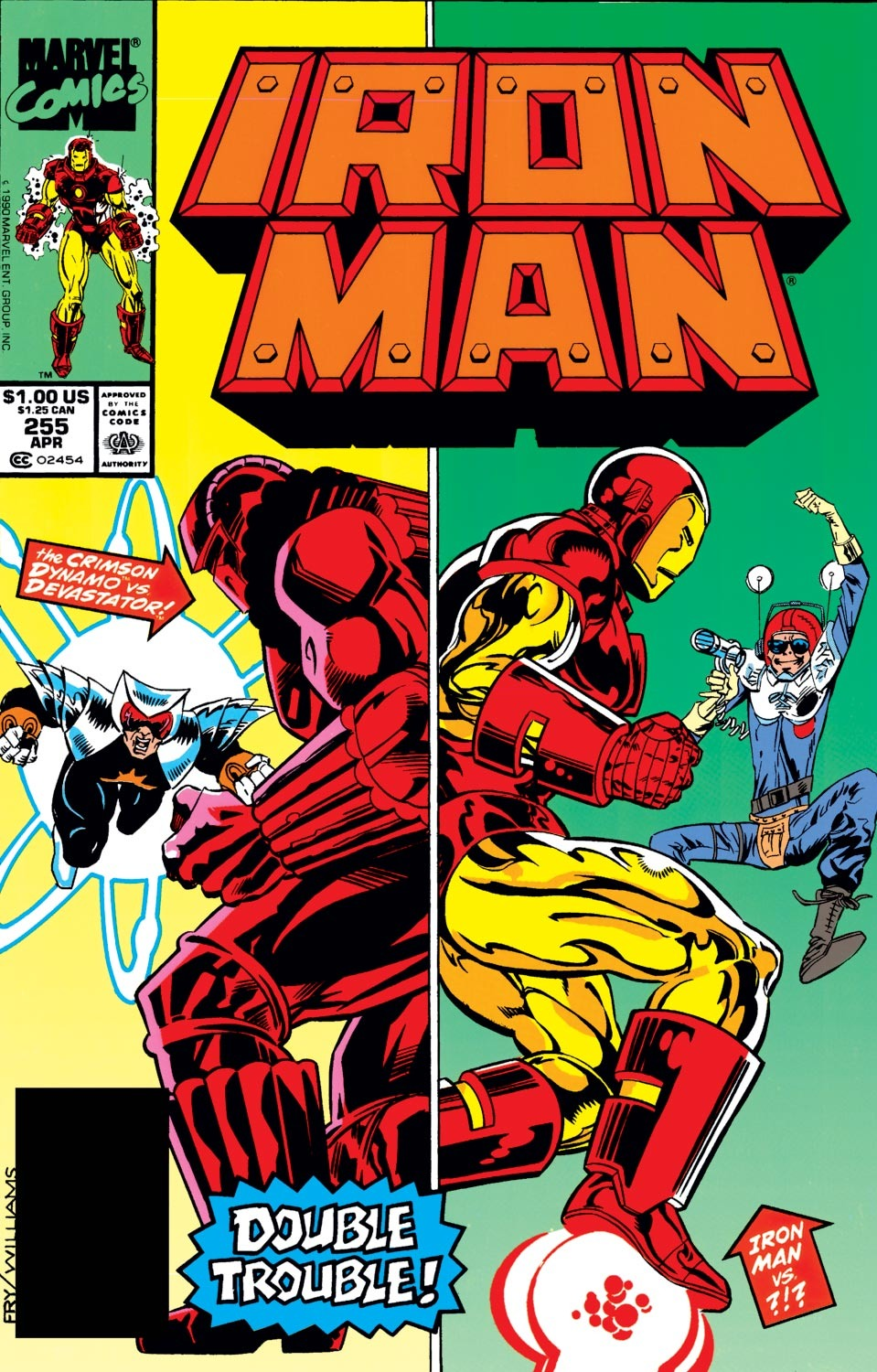 Iron Man Vol 1 255