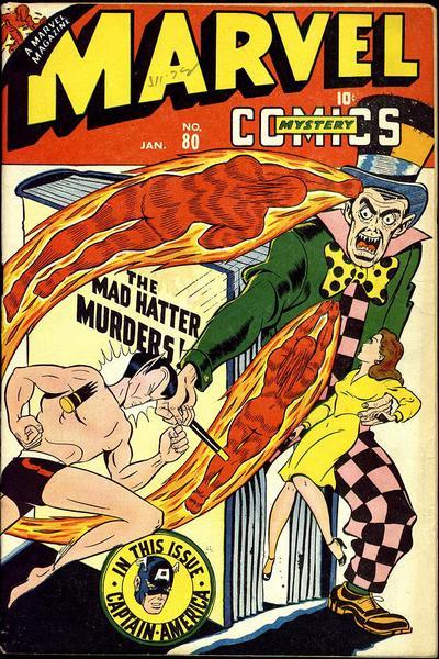Marvel Mystery Comics Vol 1 80