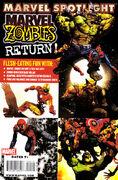 Marvel Spotlight Marvel Zombies Return Vol 1 1