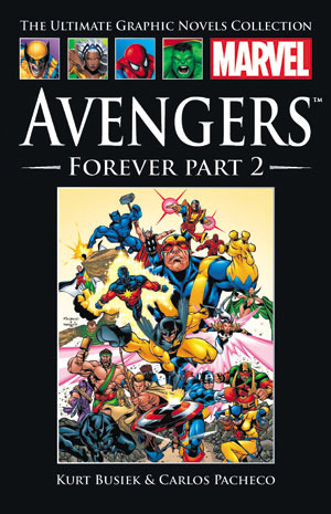 Official Marvel Graphic Novel Collection Vol 1 15